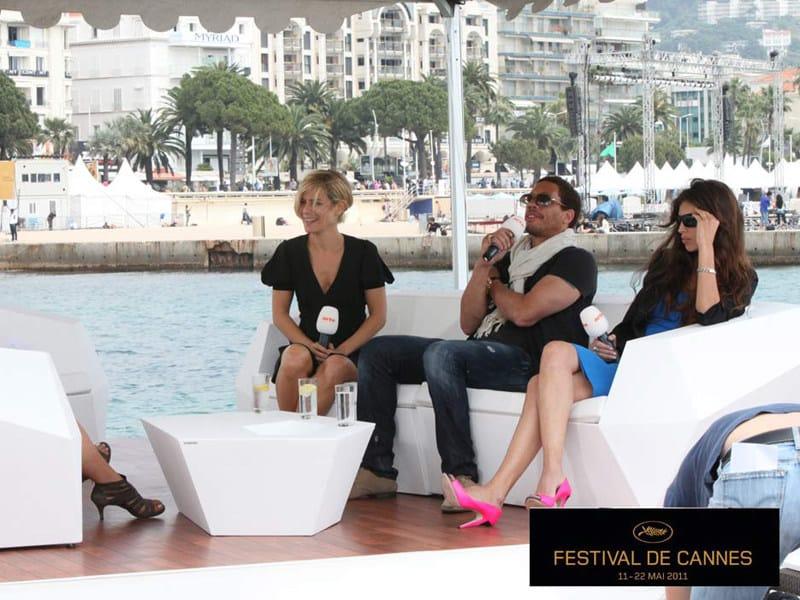 FAZ   Vaso da giardino Vondom al Festival di Cannes