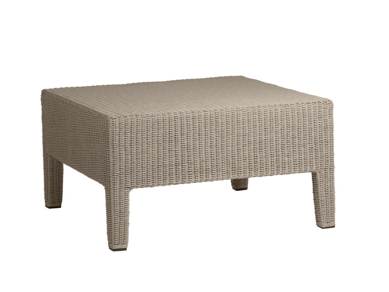 Square Canax® garden footstool TERRA | Garden footstool by TRIBÙ