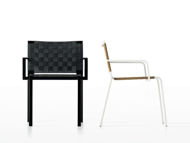 Garden chair REST | Garden chair by Kristalia