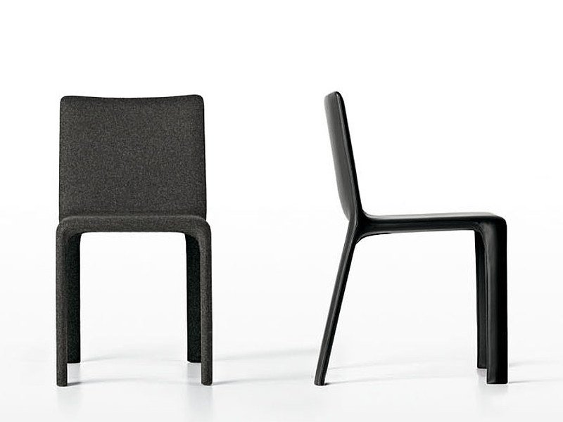 Upholstered fabric chair JOKO | Fabric chair by Kristalia