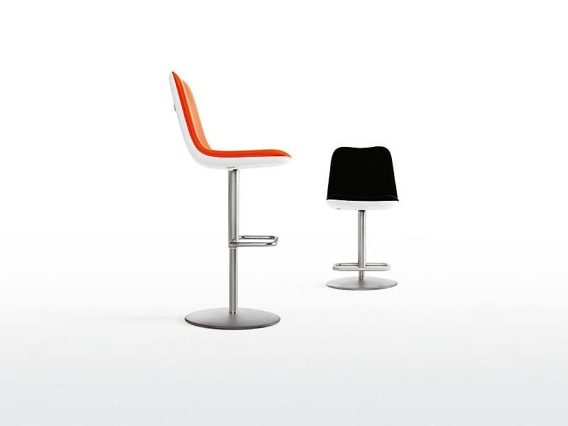 Swivel stool BOUM | Stool by Kristalia