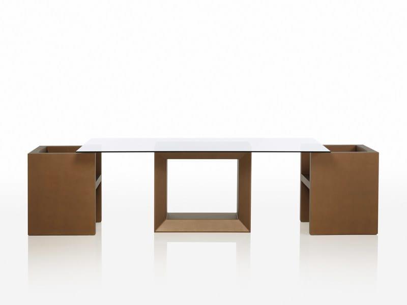 Rectangular garden table VELA | Rectangular garden table by VONDOM