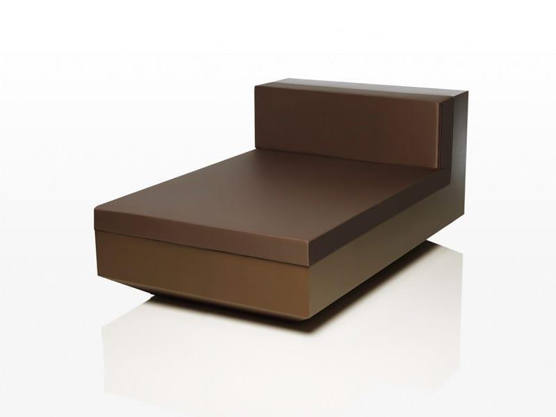 Modular polyethylene garden sofa VELA XL by VONDOM