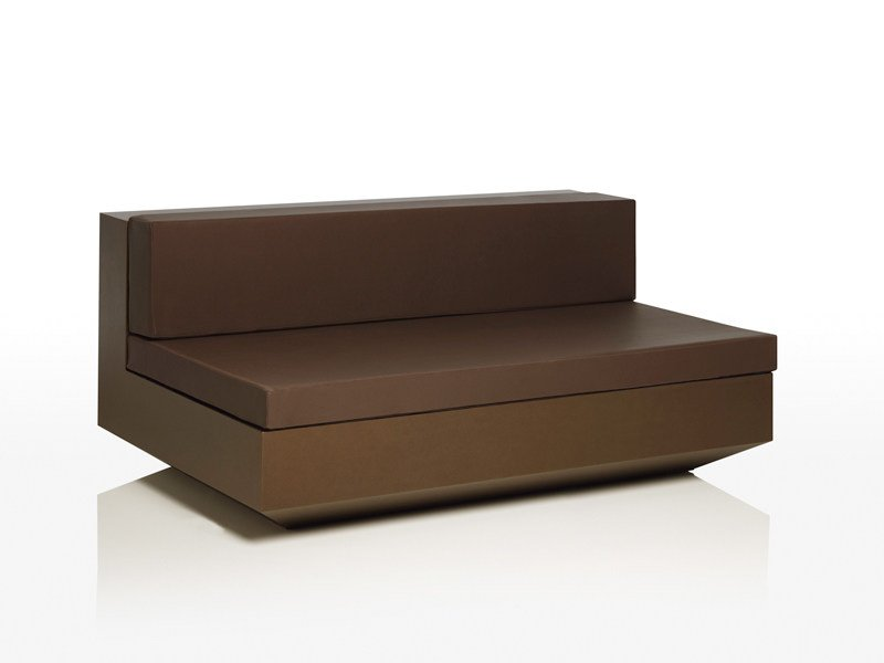 Modular polyethylene garden sofa VELA L 160 by VONDOM