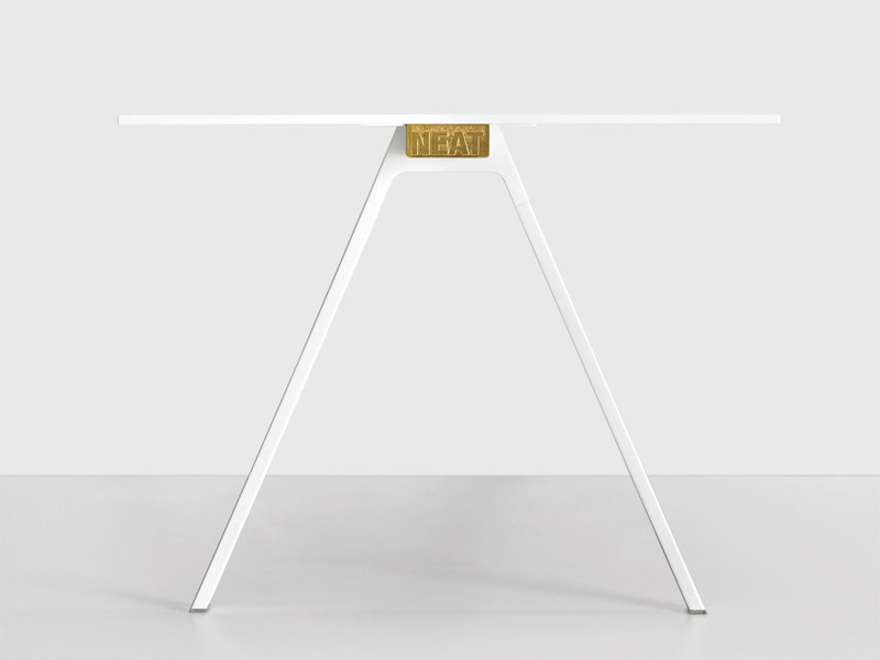 Rectangular table NEAT | Table by Kristalia