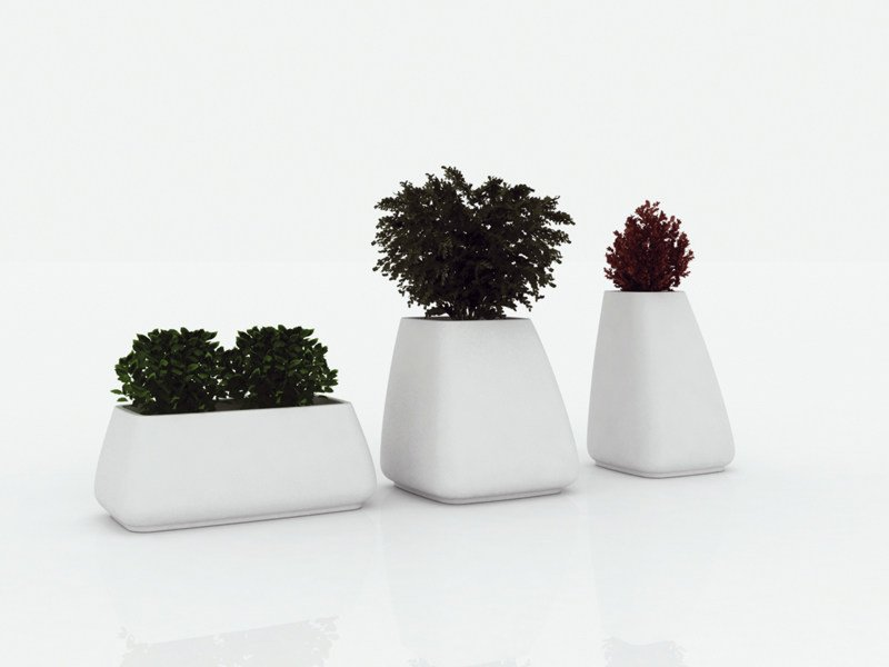 Garden vase MOMA | Garden vase by VONDOM