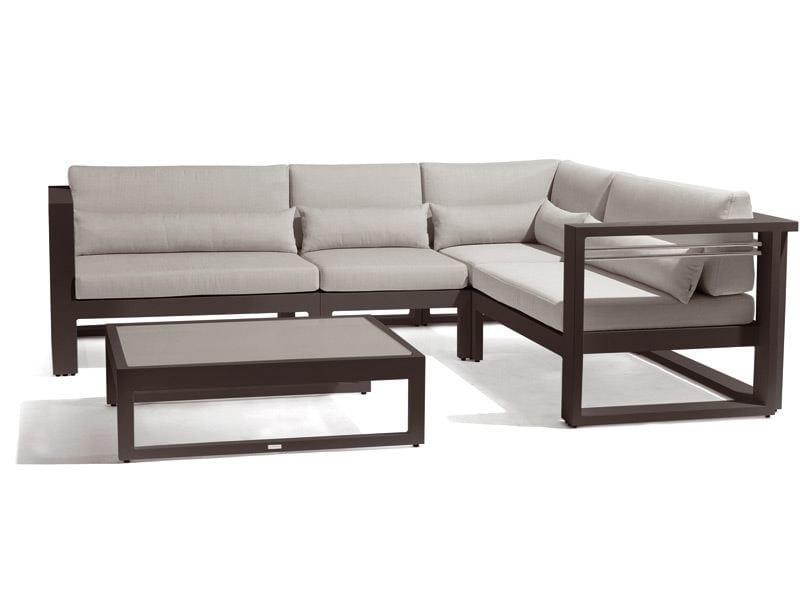 Modular garden sofa FUSE   Modular sofa by MANUTTI