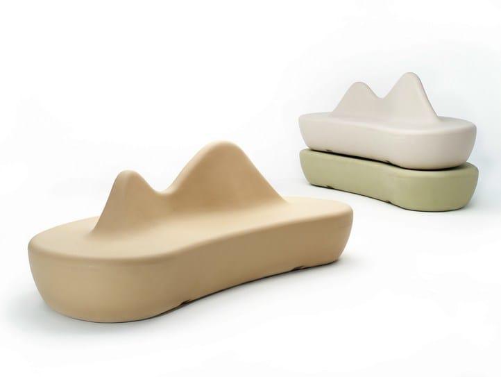 Polyethylene Bench BDLOVE By BD Barcelona Design