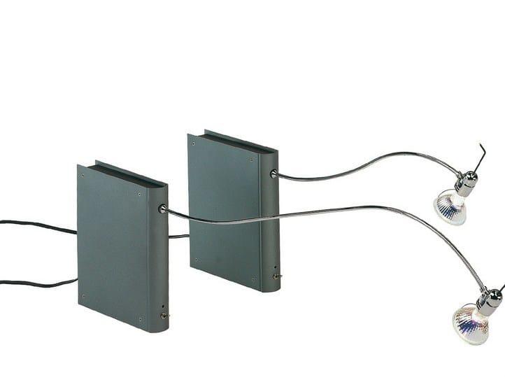 Illuminazione per mobili in alluminio BIB LUZ LIBRO by BD Barcelona Design