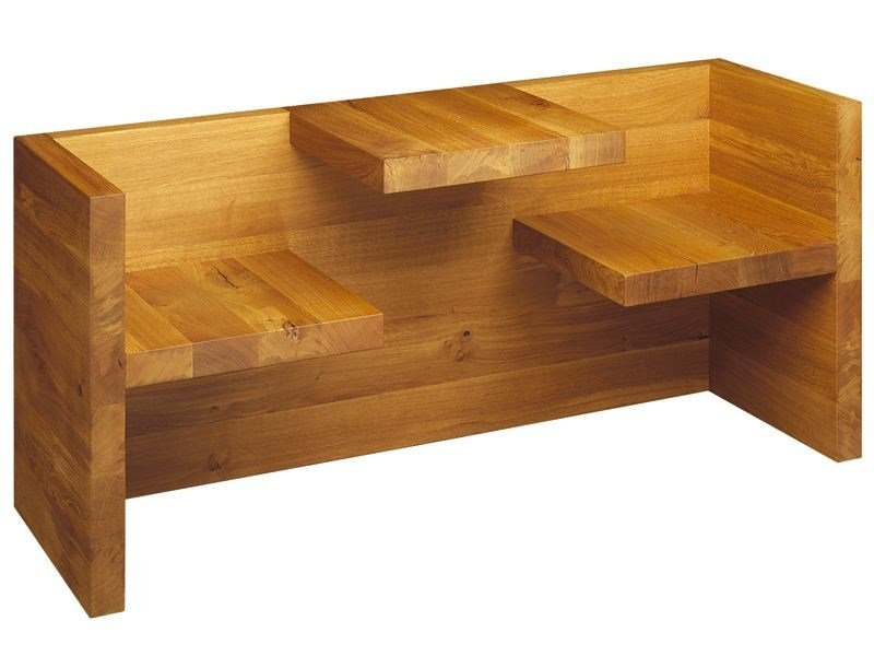 Solid wood bench TAFEL by e15