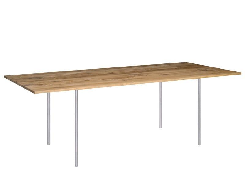 Rectangular table ANTON by e15