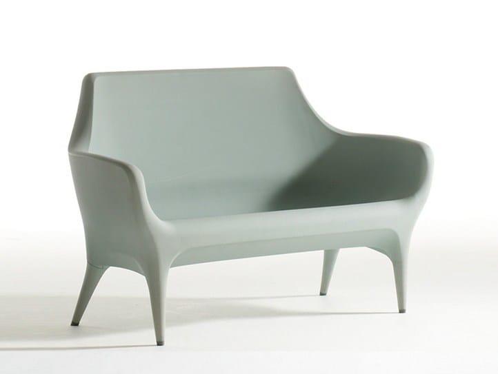 Polyethylene sofa SHOWTIME | Sofa by BD Barcelona Design