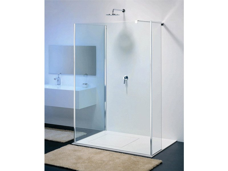Glass shower wall panel MODULA MR-5 by Provex Industrie