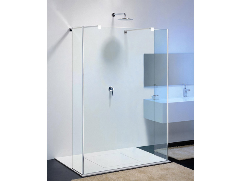 Glass shower wall panel MODULA MR-3 by Provex Industrie