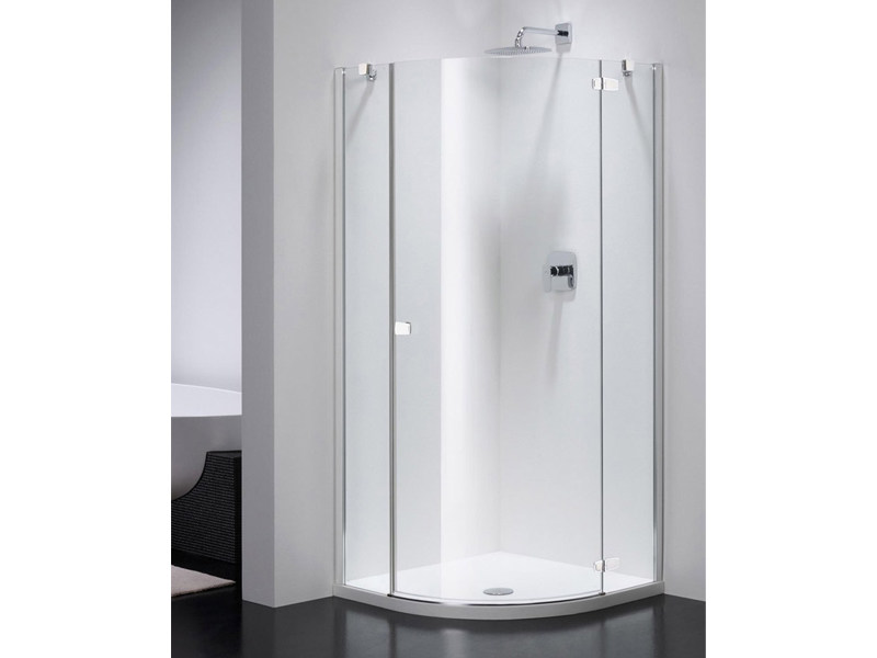 Semicircular glass shower cabin COMBI CS by Provex Industrie