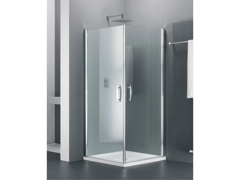 Corner glass shower cabin ELEGANCE TE by Provex Industrie