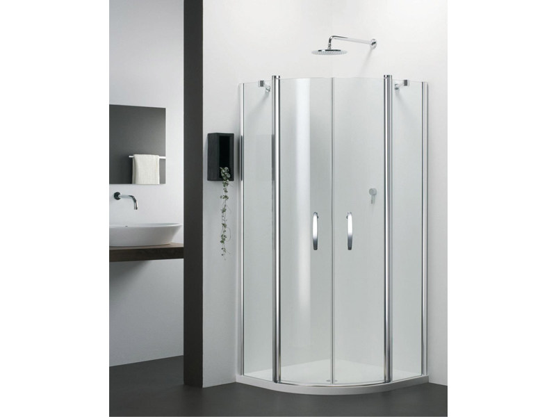 Semicircular glass shower cabin VARIO QV by Provex Industrie