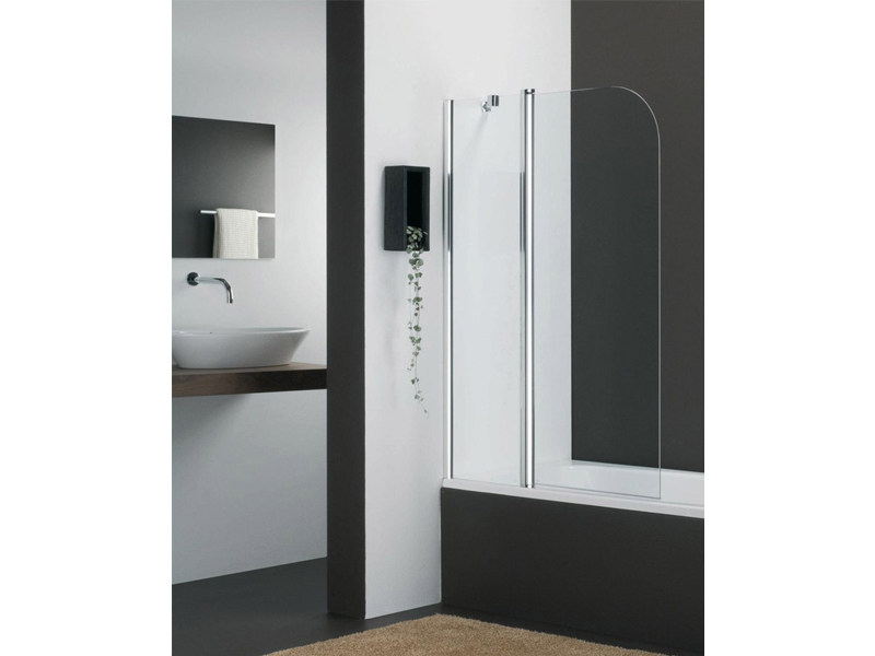Glass bathtub wall panel VARIO KV by Provex Industrie