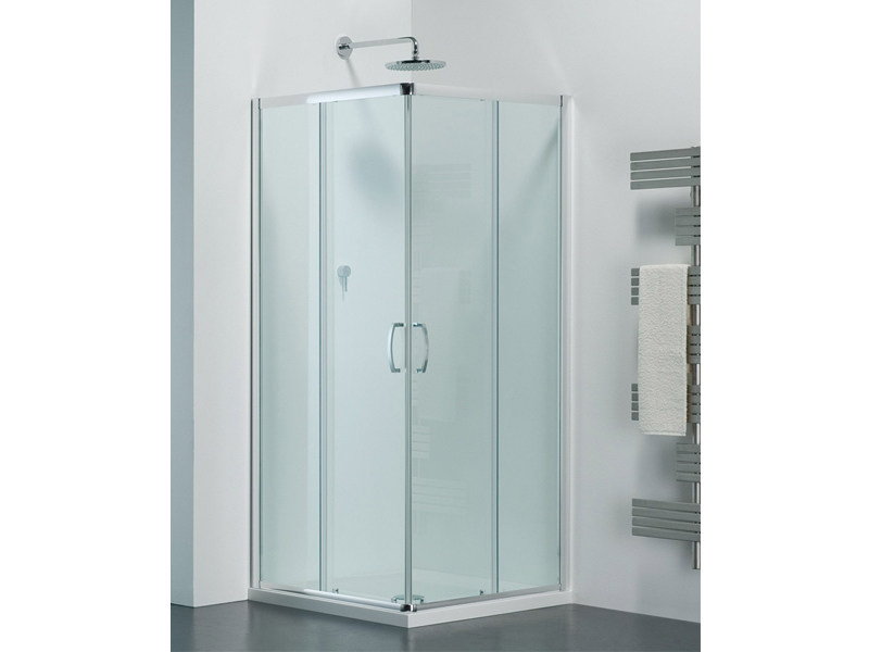 Glass shower cabin with sliding door ARCO AE by Provex Industrie