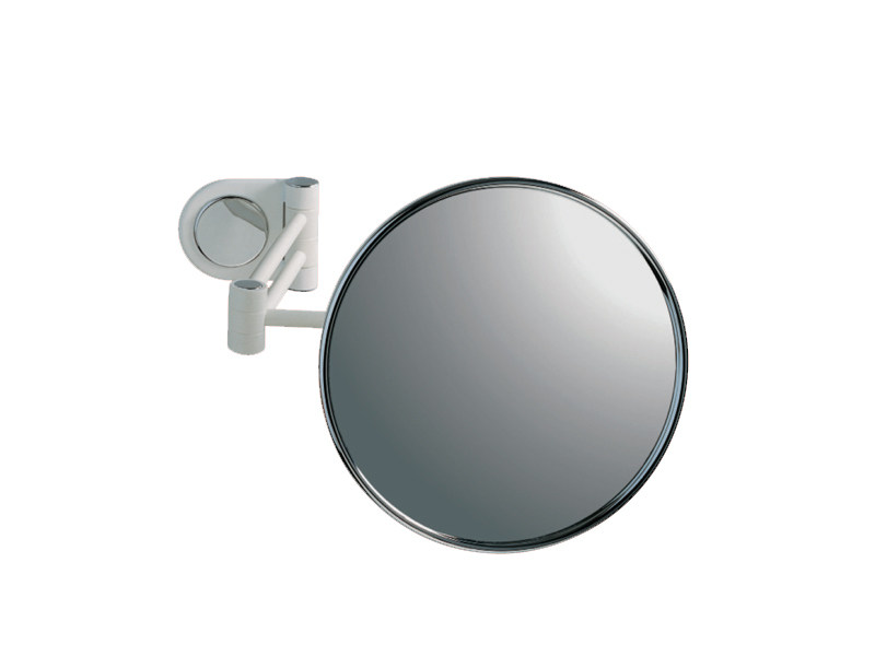 Round wall-mounted shaving mirror RELAX RA 02 by Provex Industrie