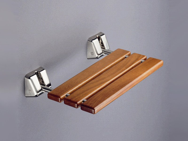 Folding wooden shower Seat 200 RD by Provex Industrie