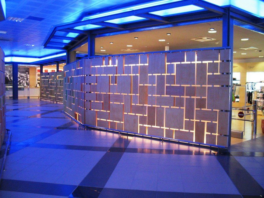 Terracotta wall tiles VISION by FORNACE S. ANSELMO
