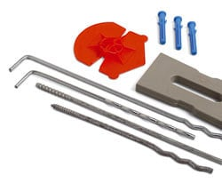 Special fixing for insulation TOOLS by FORNACE S. ANSELMO