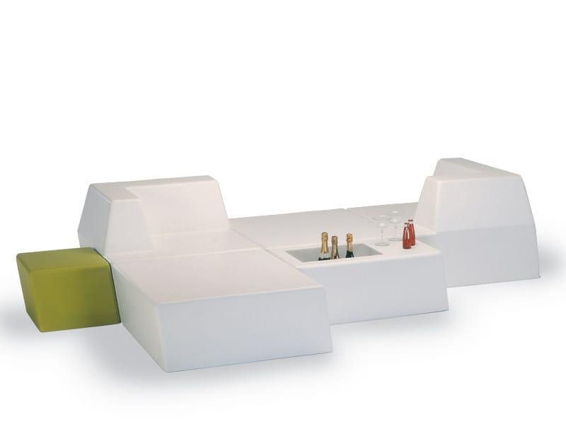 Modular foam sofa UNIVERS | Modular sofa by FISCHER MÖBEL
