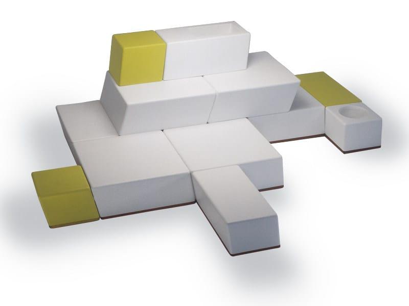 univers modulares sofa by fischer m bel design wolf udo. Black Bedroom Furniture Sets. Home Design Ideas