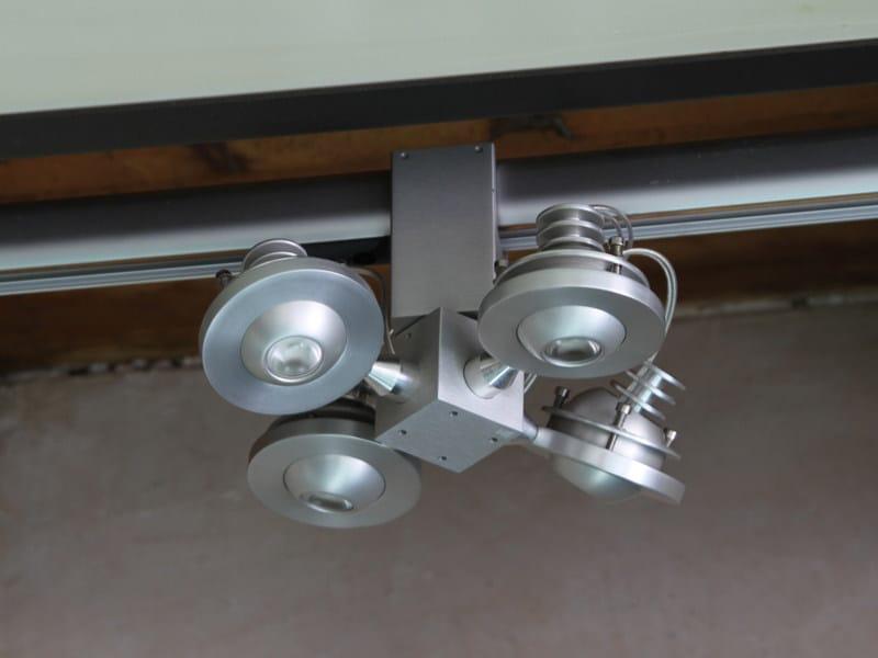 LED pendant lamp LIBRA LED   Track-Light by Tecnoilluminazione