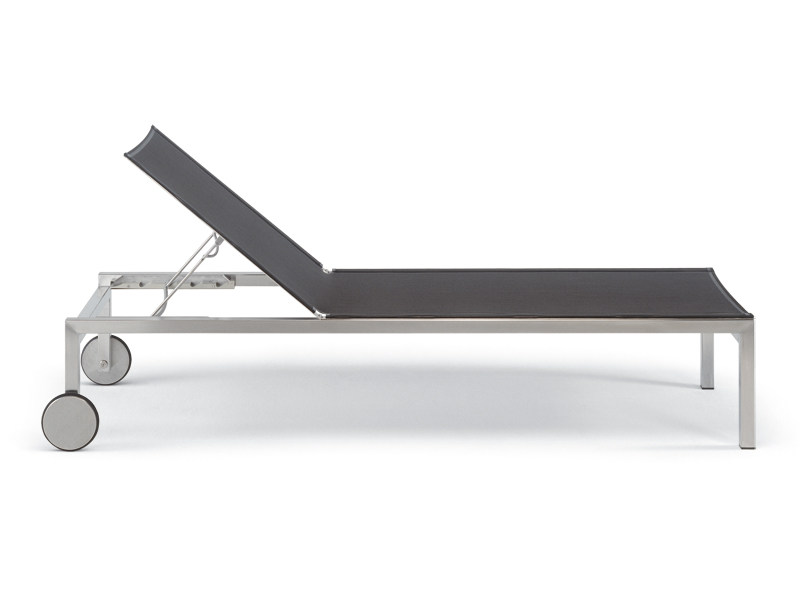 Recliner garden daybed with Casters HELIX | Garden daybed with Casters by FISCHER MÖBEL