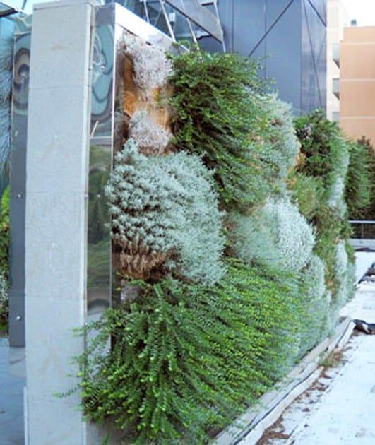 PERLIWALL® parete verde realizzata con sistema