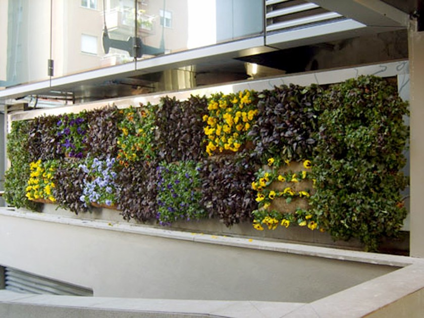 Vertical gardening trellis PERLIWALL® by Perlite Italiana