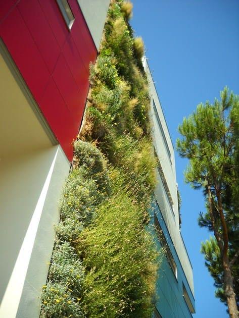 PERLIWALL® parete verde realizzata con sistema Perliwall