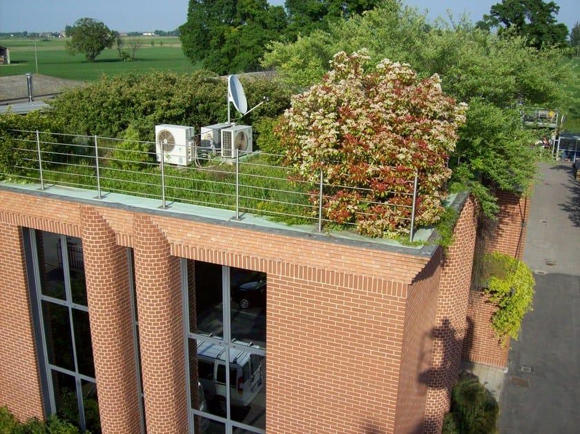 Roof garden system PERLIROOF® INTENSIVO by Perlite Italiana