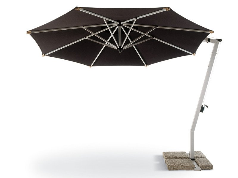 Offset aluminium Garden umbrella SUNSET by FISCHER MÖBEL