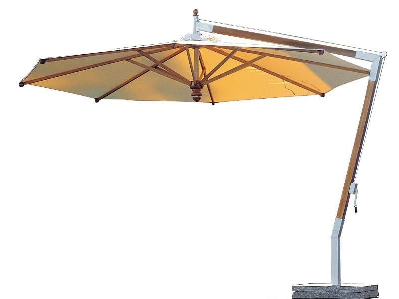 Offset Garden umbrella PENDULUM by FISCHER MÖBEL