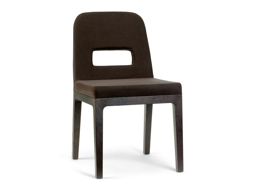 Upholstered chair POLO by PEDRALI