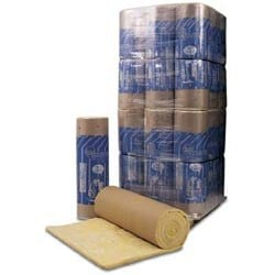 Glass wool thermal insulation felt SAGLAN GOLD 200/210 by FORTLAN - DIBI