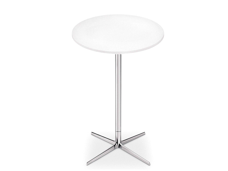 Round high table GINGER H 105 | Round table by arper