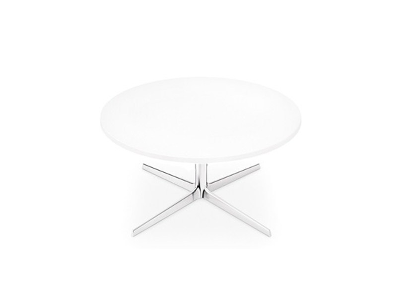 Low Round Coffee Table FRED H 36.4 | Round Coffee Table By Arper