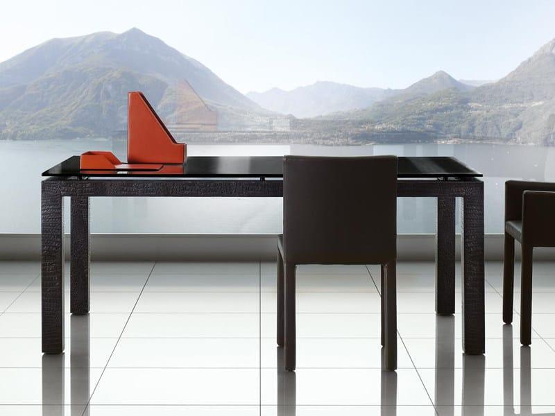Tavoli Da Salotto Allungabili : Tavolo allungabile da salotto abaco tavolo enrico pellizzoni