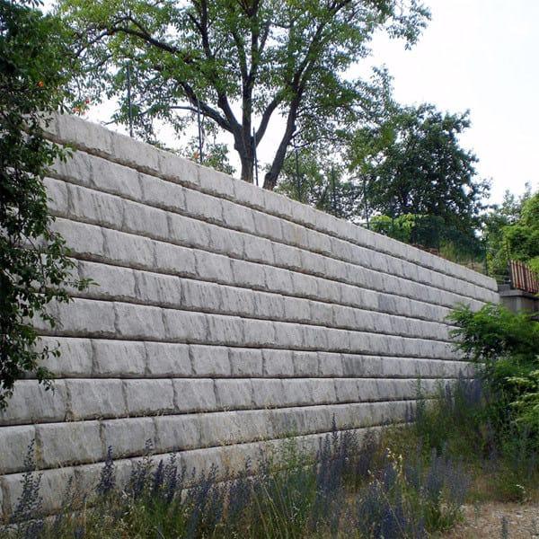 Muro Di Contenimento Redi Rock Calubini