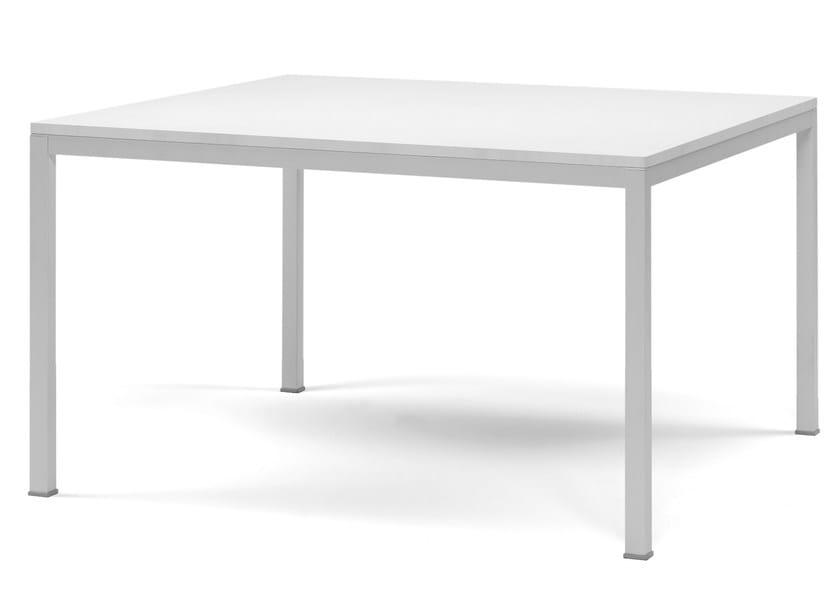 Steel table KUADRO by PEDRALI