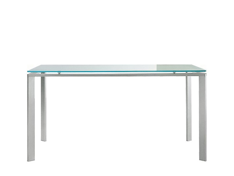 Rectangular stainless steel table LOGICO | Rectangular table by PEDRALI