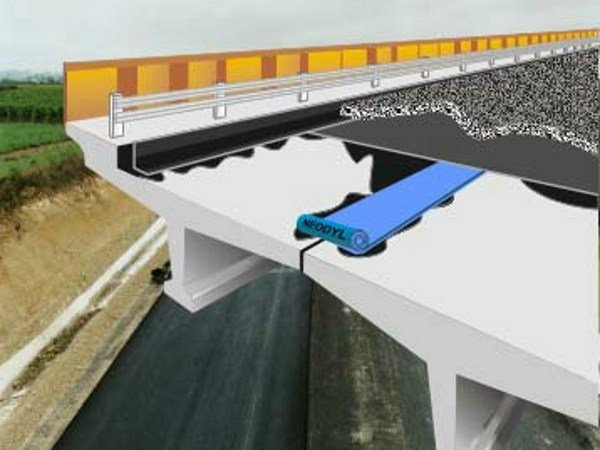 Tape and joint for waterproofing NEODYL N® by Icopal