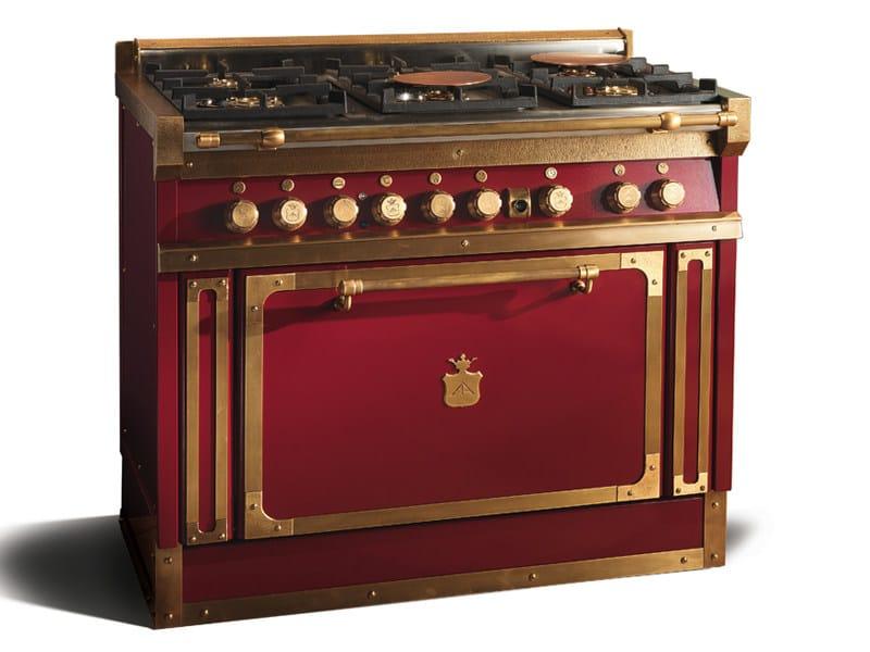 Cucina a libera installazione in acciaio og108s cucina a libera installazione officine gullo - Cucine a gas libera installazione ...