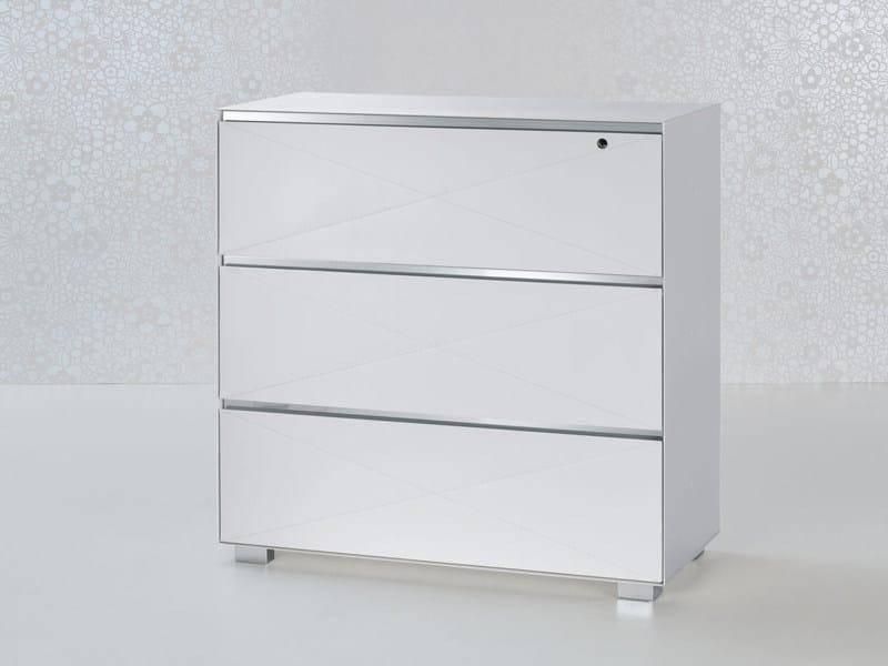 Serrature Per Cassettiere Ufficio.Cassettiera Ufficio Modulare In Acciaio Con Serratura Utility