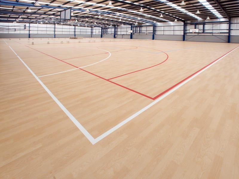 Resilient sports flooring TARAFLEX® MULTI-USE 3.0 by gerflor