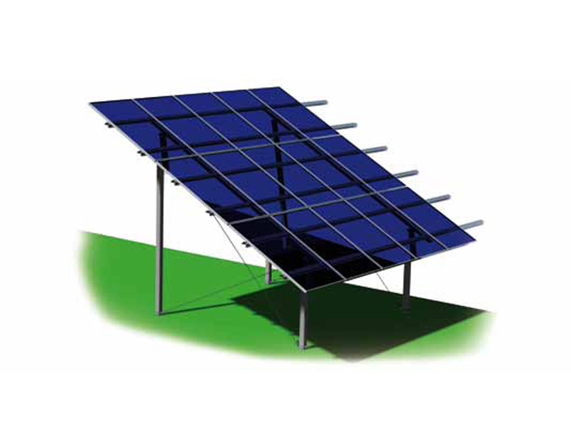Support for photovoltaic system ZENITH MINUS by STRUKTURE